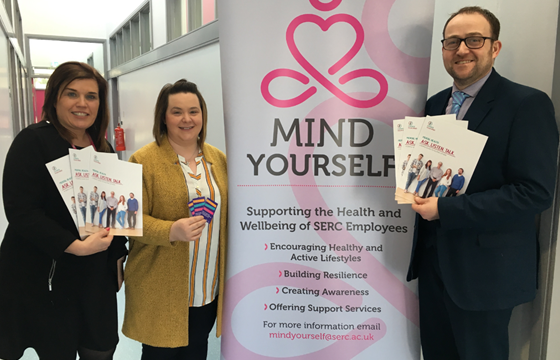 SERC partnership with Inspire Wellbeing