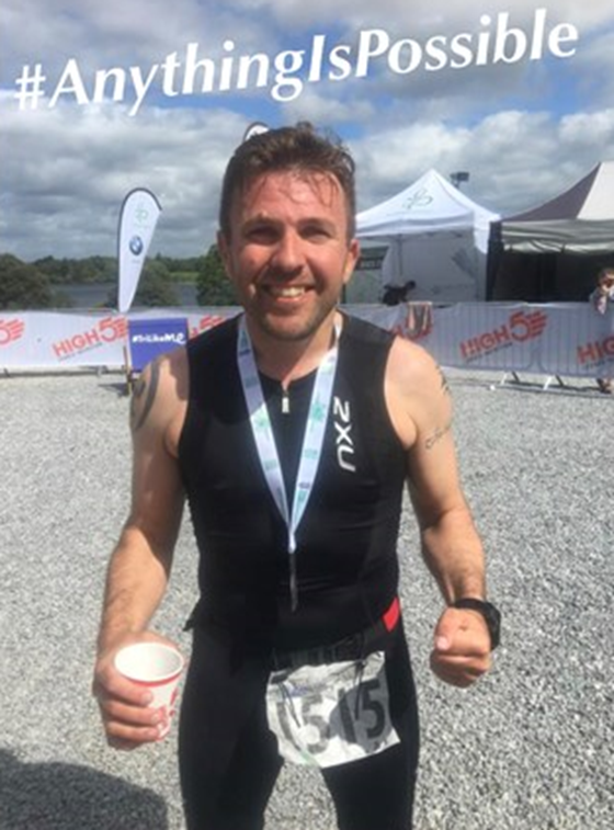 Neil Rollins will be undertaking the Ironman Cork Challenge on Sunday 23rd June to raise awareness and funds for Inspire.