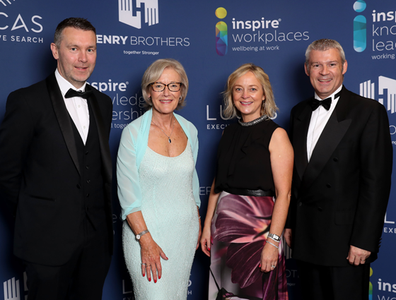 Inspire Crowns winners in Workplace Wellbeing Awards