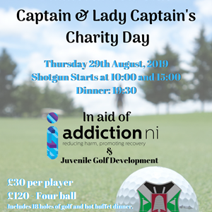 Balmoral Golf Club Captain & Lady Captain's Charity Day