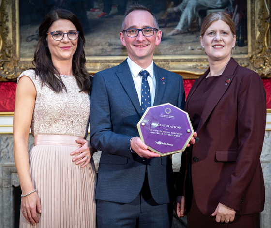 The Princess Royal and City & Guilds Group honour outstanding workplace training