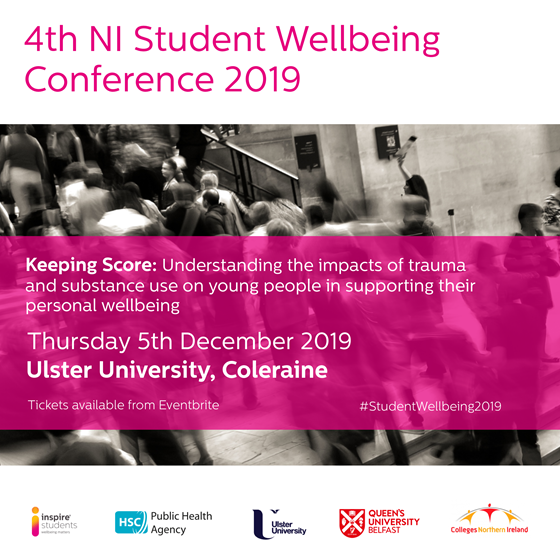 4th NI Student Wellbeing Conference 2019 – 'Keeping Score'.