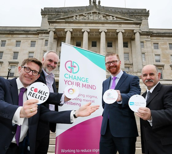 Minister Hamilton helps launch Change your Mind